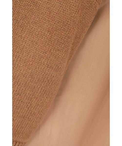 ROSE BUD / ローズ バッド シャツ・ブラウス | ワンショルダーニット付きブラウス | 詳細20