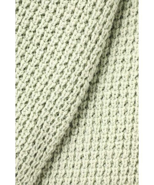ROSE BUD / ローズ バッド ニット・セーター | ワッフル編みニット | 詳細4