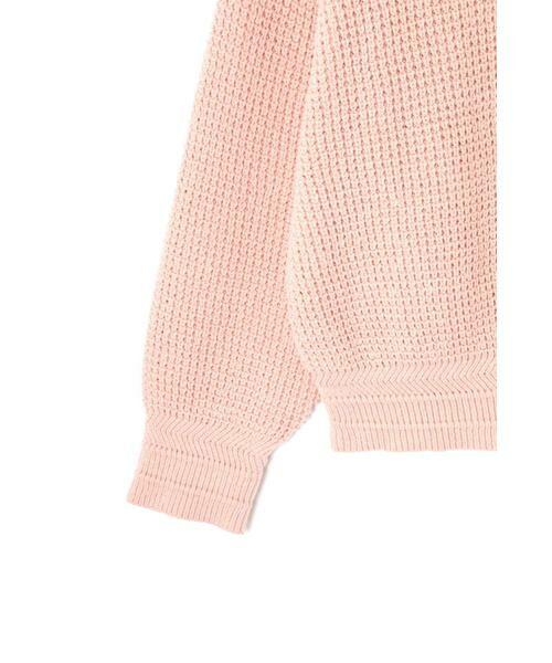 ROSE BUD / ローズ バッド ニット・セーター | ワッフル編みニット | 詳細14