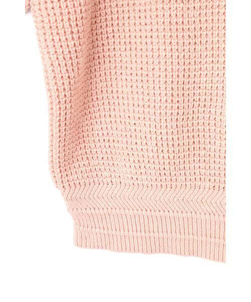 ROSE BUD / ローズ バッド ニット・セーター | ワッフル編みニット | 詳細15