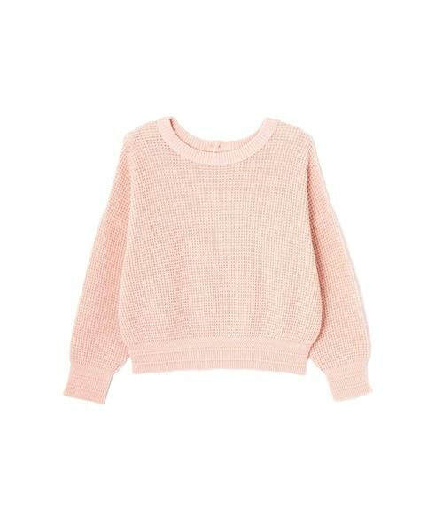 ROSE BUD / ローズ バッド ニット・セーター | ワッフル編みニット(ピンク)
