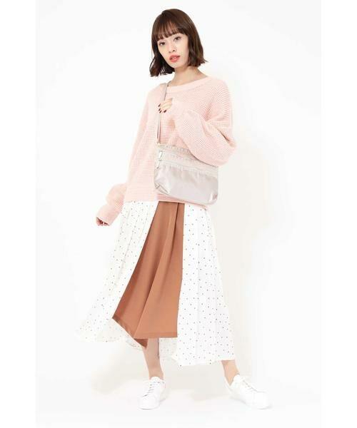 ROSE BUD / ローズ バッド スカート | プリントプリーツスカート | 詳細1