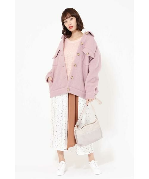 ROSE BUD / ローズ バッド スカート | プリントプリーツスカート | 詳細2