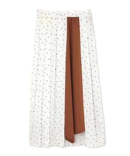 ROSE BUD / ローズ バッド スカート | プリントプリーツスカート | 詳細3