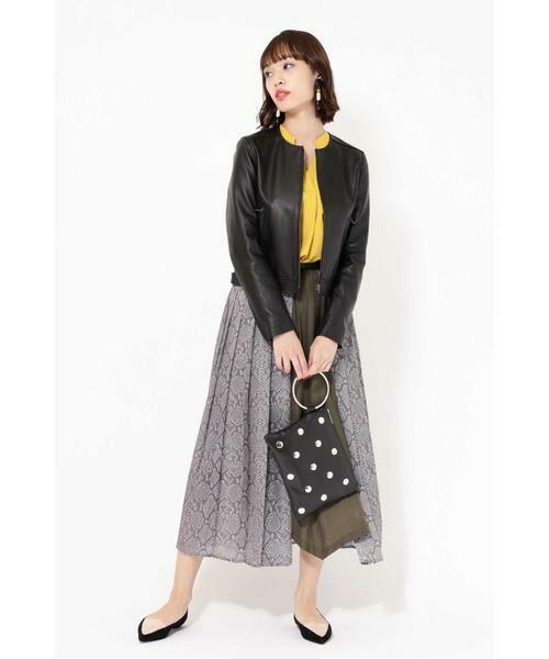 ROSE BUD / ローズ バッド スカート | プリントプリーツスカート | 詳細6