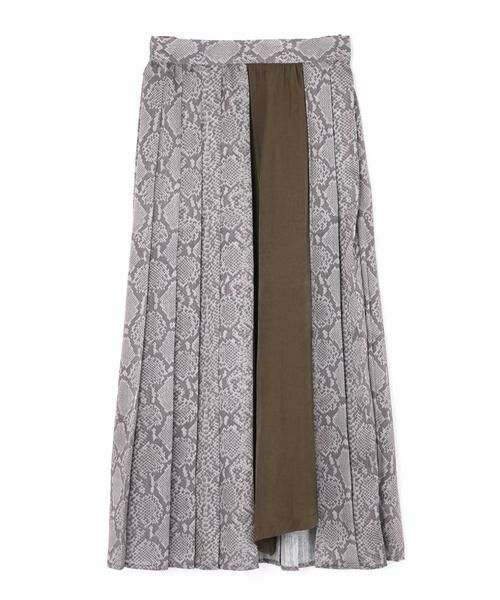 ROSE BUD / ローズ バッド スカート | プリントプリーツスカート | 詳細7