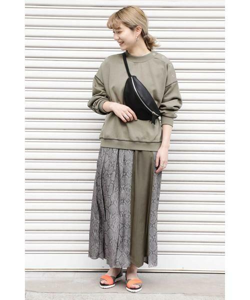ROSE BUD / ローズ バッド スカート | プリントプリーツスカート | 詳細9