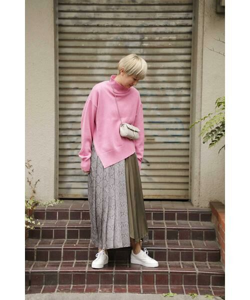 ROSE BUD / ローズ バッド スカート | プリントプリーツスカート | 詳細10
