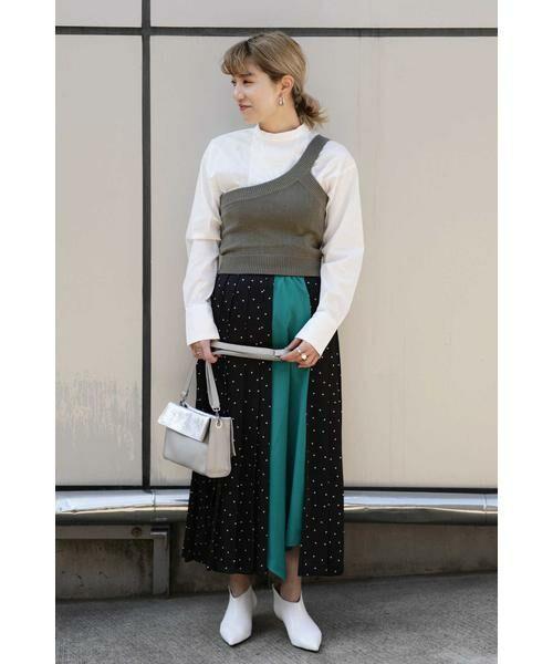 ROSE BUD / ローズ バッド スカート | プリントプリーツスカート | 詳細20