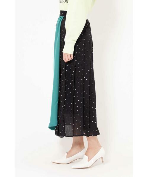 ROSE BUD / ローズ バッド スカート | プリントプリーツスカート | 詳細12