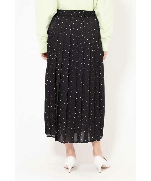 ROSE BUD / ローズ バッド スカート | プリントプリーツスカート | 詳細13