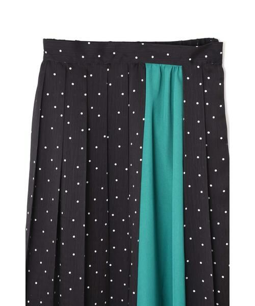 ROSE BUD / ローズ バッド スカート | プリントプリーツスカート | 詳細15