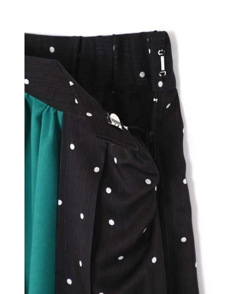 ROSE BUD / ローズ バッド スカート | プリントプリーツスカート | 詳細17