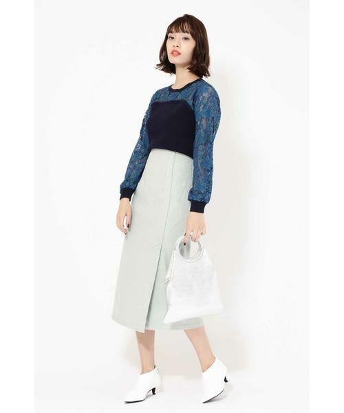ROSE BUD / ローズ バッド スカート | コーデュロイタイトスカート | 詳細1