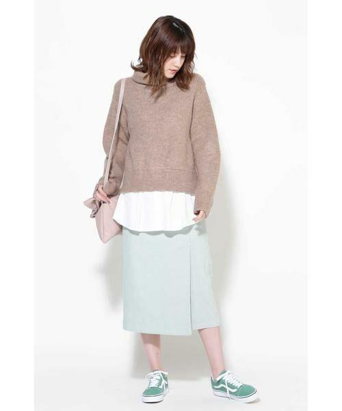 ROSE BUD / ローズ バッド スカート | コーデュロイタイトスカート | 詳細3