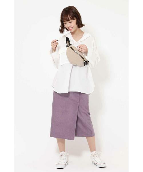 ROSE BUD / ローズ バッド スカート | コーデュロイタイトスカート | 詳細8