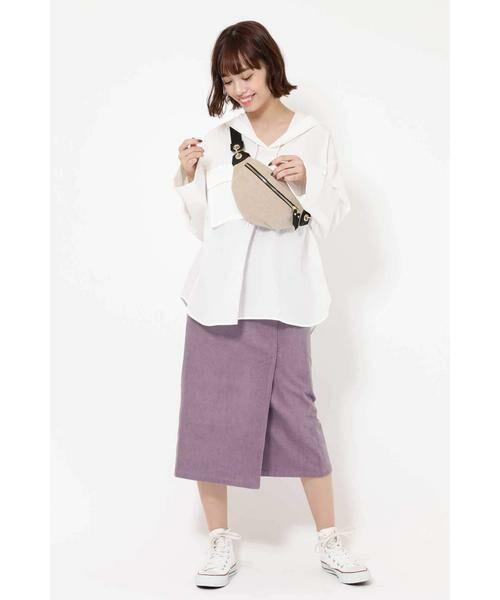 ROSE BUD / ローズ バッド スカート | コーデュロイタイトスカート | 詳細10