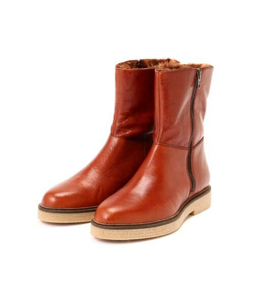 ROSE BUD / ローズ バッド ブーツ(ショート丈) | 2wayミドル丈レザーブーツ | 詳細4