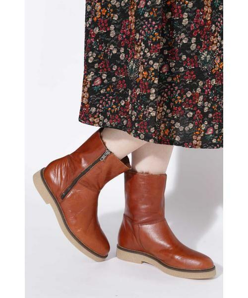 ROSE BUD / ローズ バッド ブーツ(ショート丈) | 2wayミドル丈レザーブーツ | 詳細6