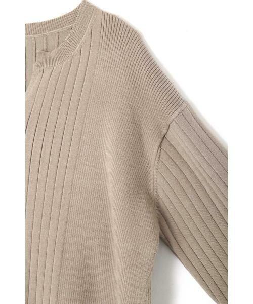 ROSE BUD / ローズ バッド ニット・セーター | リブチュニックニット | 詳細6