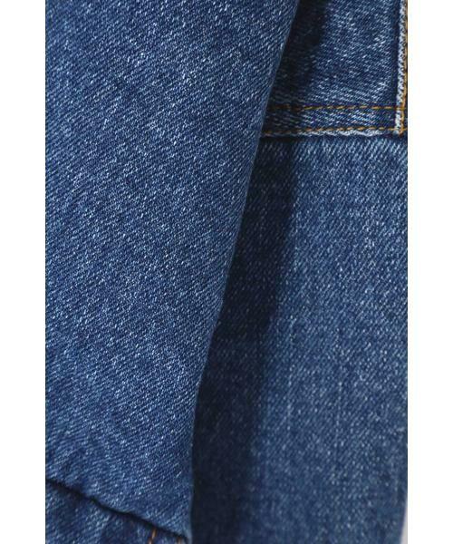 ROSE BUD / ローズ バッド アウター | 後ろ開きビッグポケットデニムジャケット | 詳細10