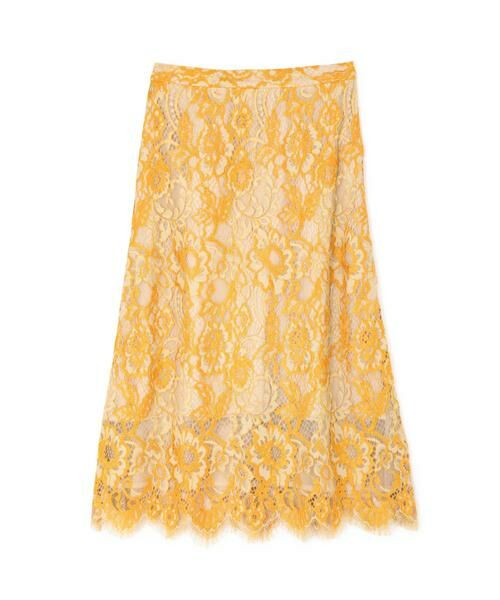 ROSE BUD / ローズ バッド スカート | 配色カラーレーススカート | 詳細2
