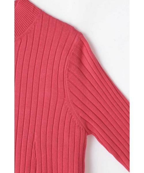 ROSE BUD / ローズ バッド ニット・セーター | レイヤードリブニット | 詳細6