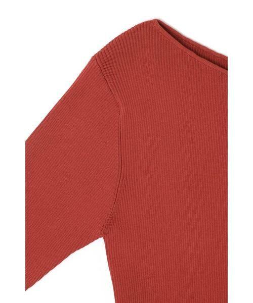 ROSE BUD / ローズ バッド ニット・セーター | アシメネックリブニット | 詳細15