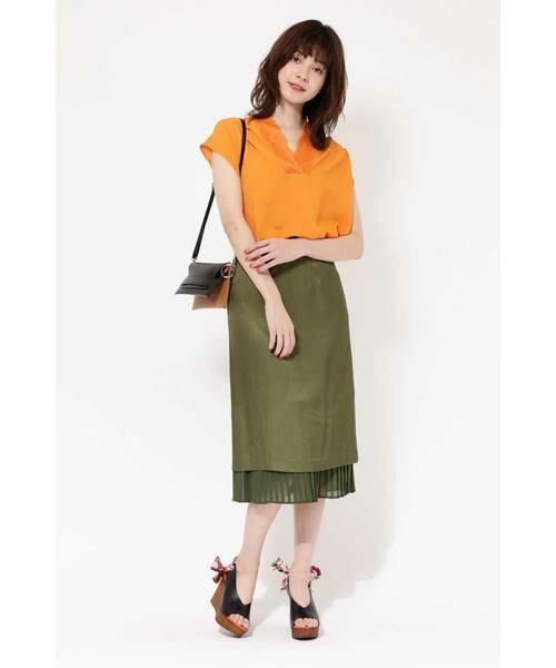 ROSE BUD / ローズ バッド スカート | 裾プリーツスカート | 詳細4