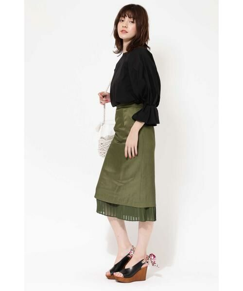 ROSE BUD / ローズ バッド スカート | 裾プリーツスカート | 詳細5