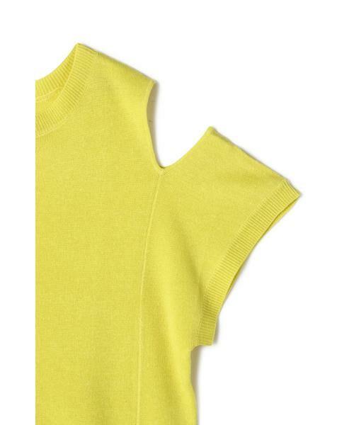 ROSE BUD / ローズ バッド カットソー | アシメ肩開きニット | 詳細6