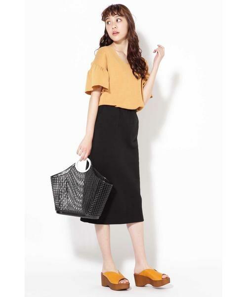ROSE BUD / ローズ バッド スカート | カットソータイトスカート | 詳細11