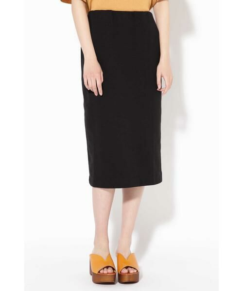 ROSE BUD / ローズ バッド スカート | カットソータイトスカート(ブラック)