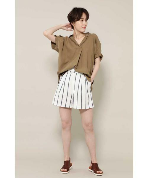 ROSE BUD / ローズ バッド シャツ・ブラウス   スキッパーシャツ   詳細1