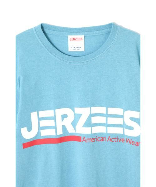 ROSE BUD / ローズ バッド カットソー | [6月号sweet掲載 7月号mina掲載]JERZEESロゴTシャツ | 詳細5