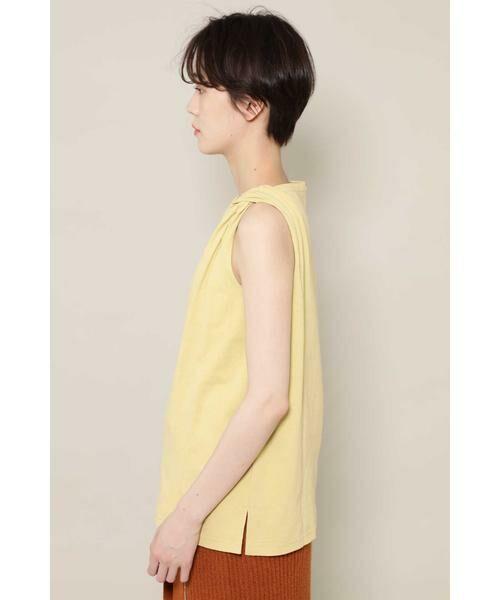 ROSE BUD / ローズ バッド カットソー   アシメトリー肩ねじりカットソー   詳細3