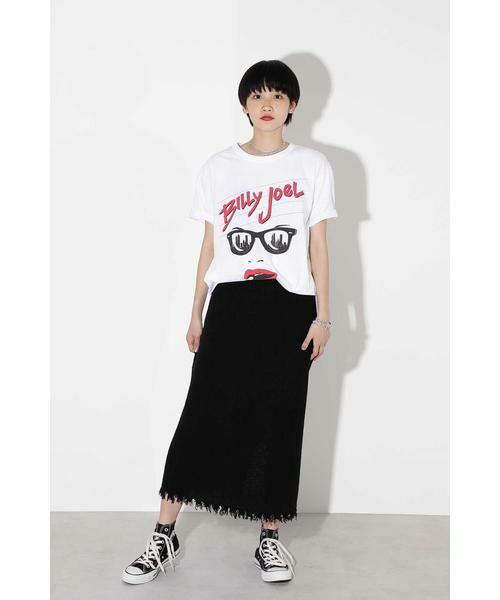 ROSE BUD / ローズ バッド スカート | リブニットスカート | 詳細5