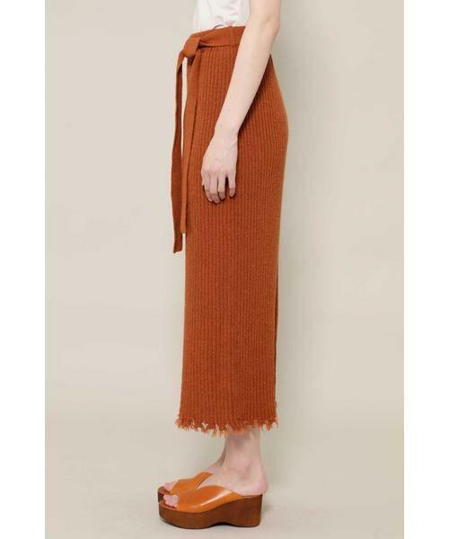 ROSE BUD / ローズ バッド スカート | リブニットスカート | 詳細10