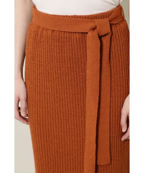 ROSE BUD / ローズ バッド スカート | リブニットスカート | 詳細12