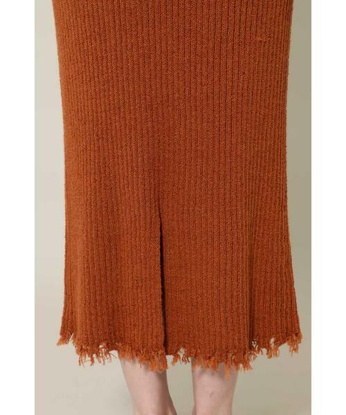 ROSE BUD / ローズ バッド スカート | リブニットスカート | 詳細14