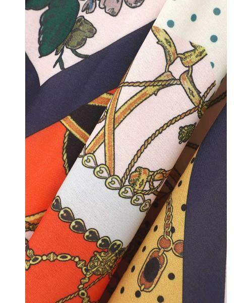 ROSE BUD / ローズ バッド スカート | スカーフプリントスカート | 詳細3