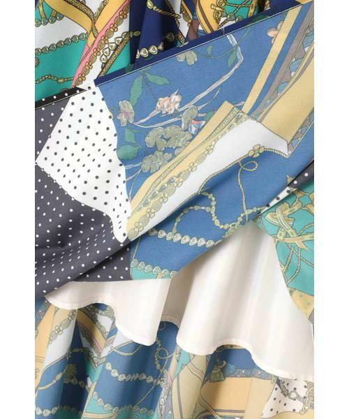ROSE BUD / ローズ バッド スカート | スカーフプリントスカート | 詳細13