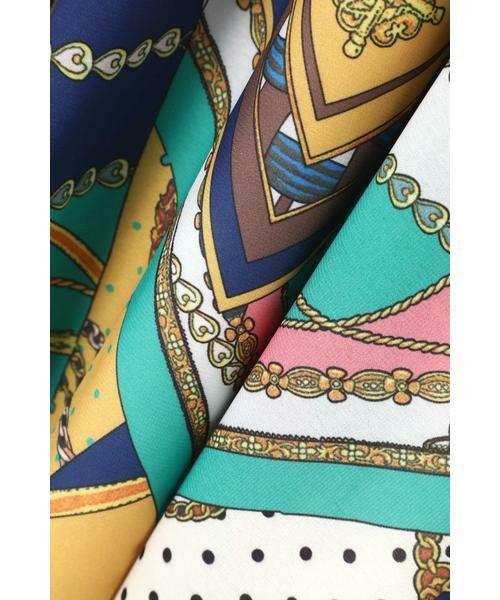ROSE BUD / ローズ バッド スカート | スカーフプリントスカート | 詳細14