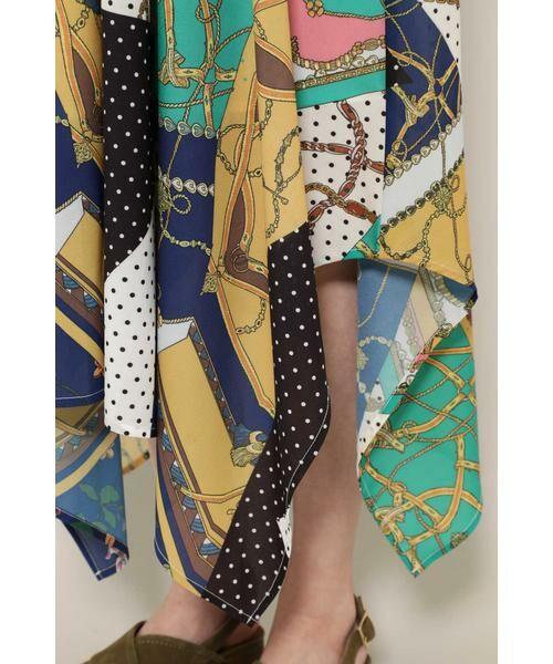 ROSE BUD / ローズ バッド スカート | スカーフプリントスカート | 詳細10