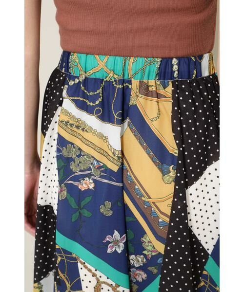 ROSE BUD / ローズ バッド スカート | スカーフプリントスカート | 詳細11