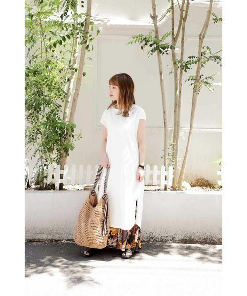 ROSE BUD / ローズ バッド スカート | リゾートプリントマキシスカート | 詳細13