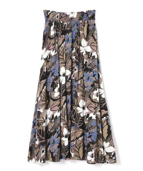 ROSE BUD / ローズ バッド スカート | リゾートプリントマキシスカート | 詳細15