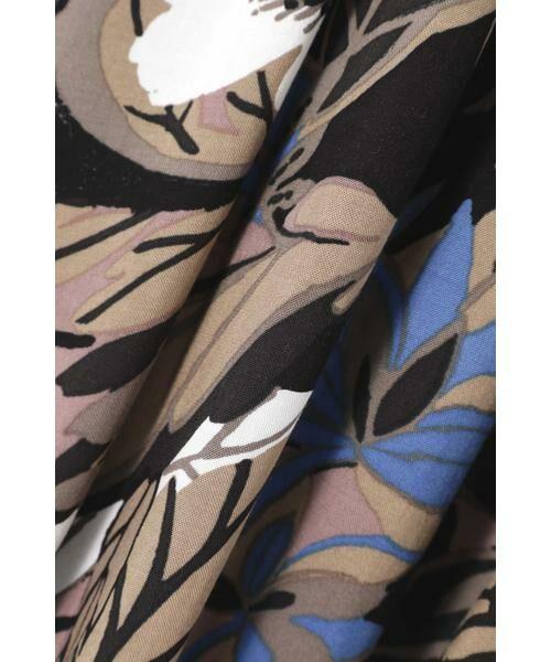 ROSE BUD / ローズ バッド スカート | リゾートプリントマキシスカート | 詳細16