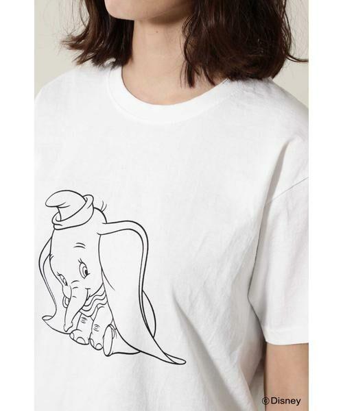ROSE BUD / ローズ バッド カットソー | JERZEES ディズニーキャラクターTシャツ | 詳細5