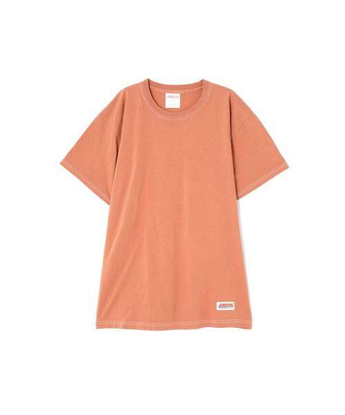ROSE BUD / ローズ バッド カットソー | JERZEES ディズニーキャラクターTシャツ(オレンジ)